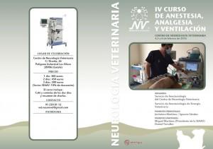 IV Curso de Anestesia, Analgesia y Ventilación @ Centro de Neurología Veterinaria | Getafe | Comunidad de Madrid | España